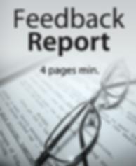 Script Feedback Report   Coverage