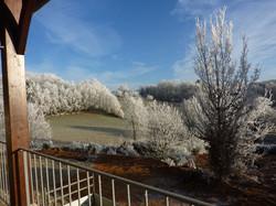 winter in goujounac