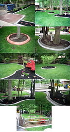 concrete curbing for gardens and driveways