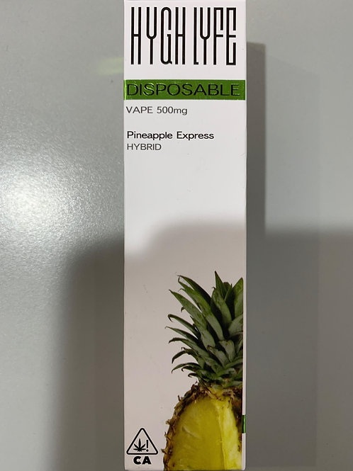 Hygh Lyfe Disposable Pineapple Express .5g