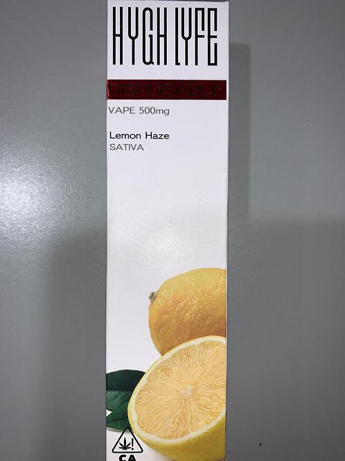 Hygh Lyfe Disposable Lemon Haze .5g