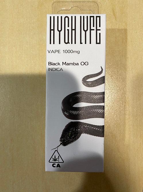 Hygh Lyfe Black Mamba 1g