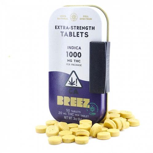 Breez Indica 1000mg Tablets