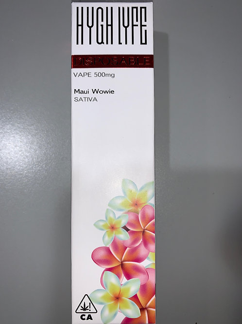 Hygh Lyfe Disposable Maui Wowie .5g
