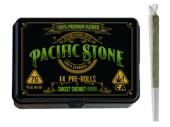 Pacific Stone Sunset Sherbet 14 Pack 7g