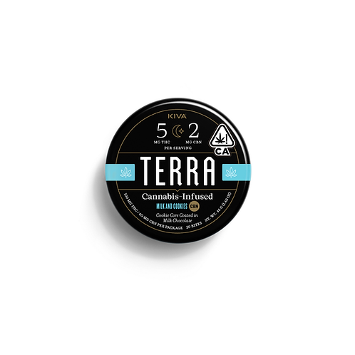 Kiva Terra Bites Cookies N Cream