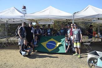 The UFRJ Nautilus Team at Robosub 2018.
