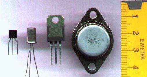 Imagem de um transistor. UFRJ Nautilus