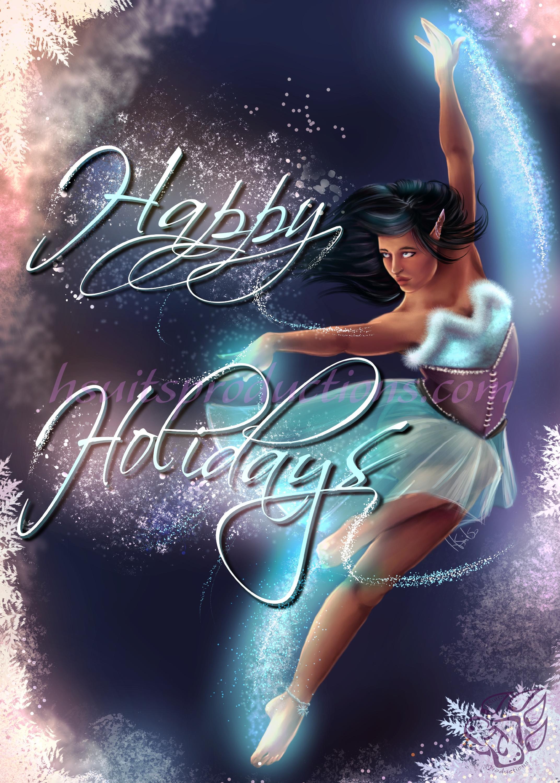 Holiday Magic Card Design