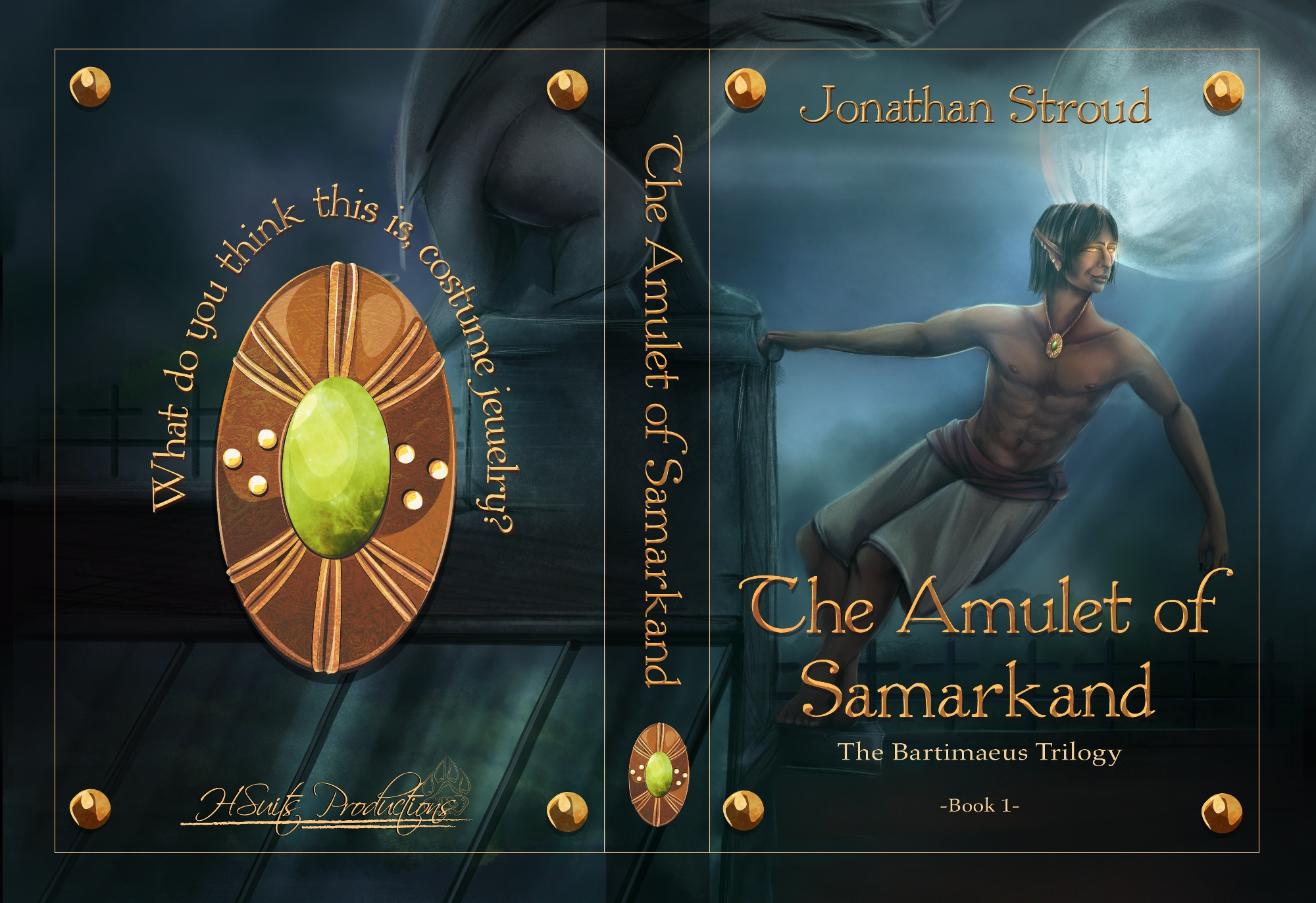 Amulet of Samarkand Layout