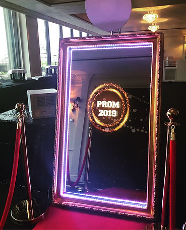 Magic Mirror Photo Booth Party Rental