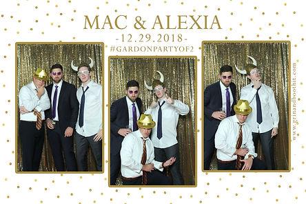 Magic Mirror Photo Booth Wedding