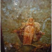 Vierge de l'Apocalypse - Avant restauration