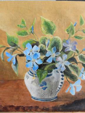 Composition florale - Après restauration