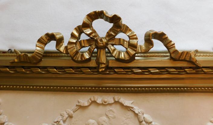 Trumeau (détail) - Après restauration