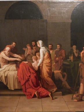 La mort du roi David - Après restauration