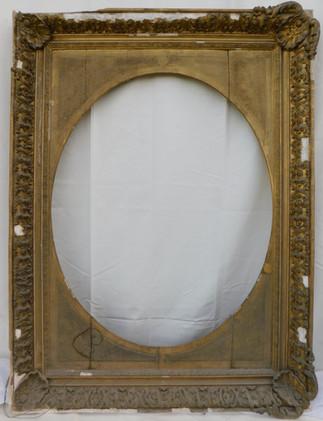 Cadre - Avant restauration