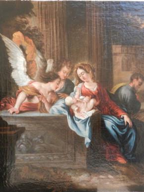 La Présentation de l'Enfant Jésus aux Anges - Après restauration