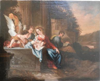 Présentation de l'Enfant Jésus aux Anges - Après restauration