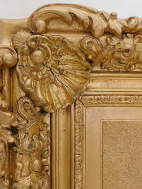 Cadre (détail) - Après restauration