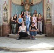 Chapelle de la Vierge - L'équipe des restauratrices