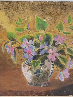 Composition florale - Avant restauration