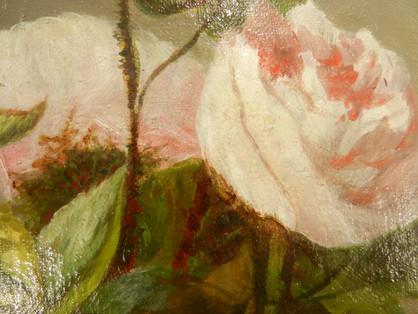 Les Roses (détail) - Après restauration