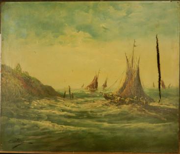 Marine - Avant restauration
