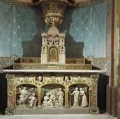 Autel de la chapelle - Après restauration