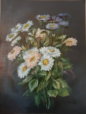 Composition florale 1 - Après restauration