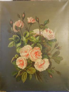 Compositiion florale 2 - Avant restauration