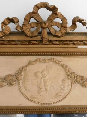 Trumeau (détail) - Avant restauration