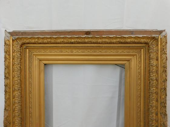 Cadre (détail) - Avant restauration