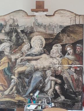 Piétà - Avant restauration
