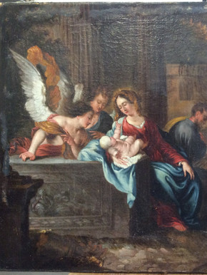 La Présentation de l'Enfant Jésus aux Anges - Avant restauration