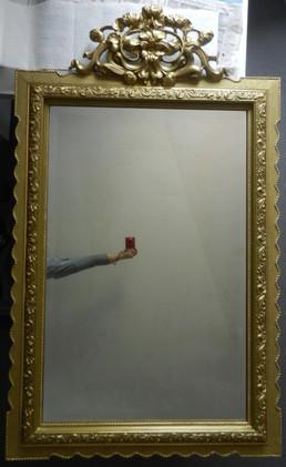 Miroir mouluré - Après restauration