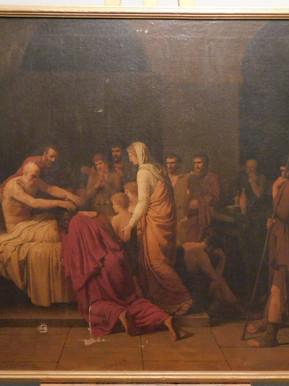La mort du roi David - Avant restauration