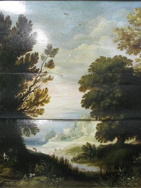 Paysage flamand - Après restauration