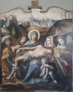Piétà - Après restauration