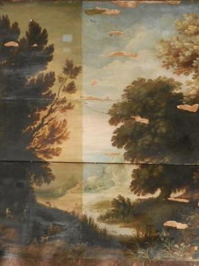 Paysage flamand - En cours de restauration