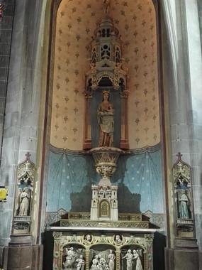 Chapelle de la Vierge - Eglise Saint-Jean de Joigny (89)