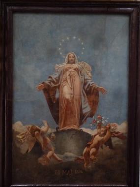 La Vierge de l'Apocalypse - Ecole militaire d'Autun (71)