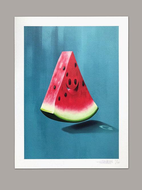 Mr. Watermelon limited print edition