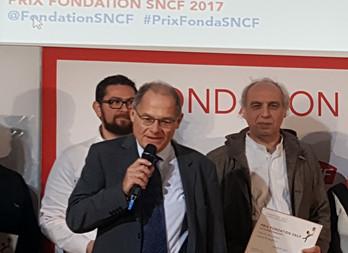 Solid'Ailes récompensée par la fondation SNCF