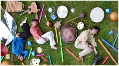 relaxation sonore laissez-vous porter par le doux mariage de la voix de Carine et des différents instruments de Nicolas