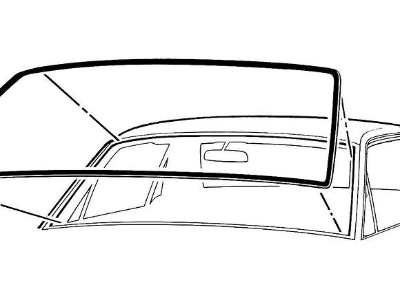 Hule Empaque Parabrisas Ford Mustang 64 65 66 67 68