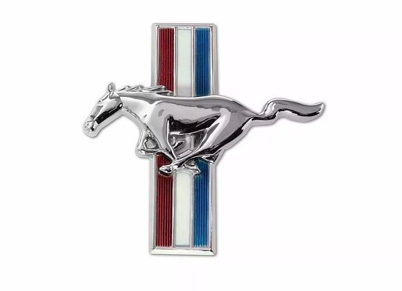 Emblema Plano Caballo Guantera Ford Mustang 65 66