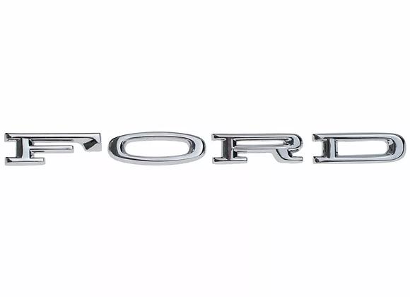 Emblema Cofre Letras Ford Mustang 64 65 66 Nuevo