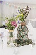 Wild Flowers at Vintage Wedding