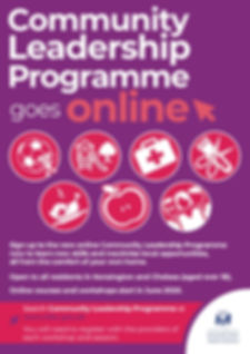 Community Leadership Programme poster 20